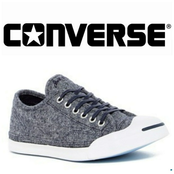 a565285ec8c3 Converse Other - CONVERSE Jack Purcell OX wool sneakers